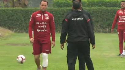 Universitario: Pablo Lavandeira se lesionó a pocos días de enfrentar a Unión Comerico por el Clausura
