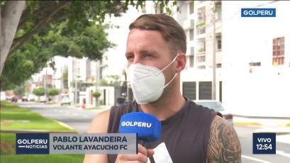 Pablo Lavandeira se ilusiona con Ayacucho FC: