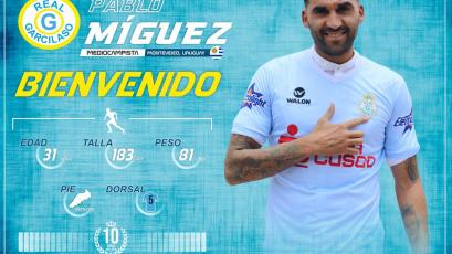Pablo Míguez es el nuevo refuerzo de Real Garcilaso