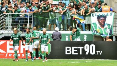 Palmeiras venció al Santos y sumó quinta victoria al hilo