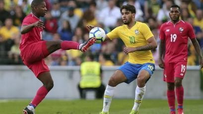 Panamá con Alberto Quintero de titular logró histórico 1-1 con Brasil (VIDEO)