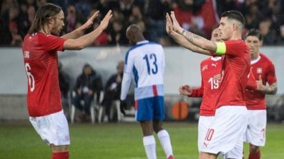 Panamá recibió 6 goles de Suiza en el cierre de su gira por Europa