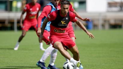 Con Paolo Guerrero: Selección Peruana realizó su primera práctica en Austria