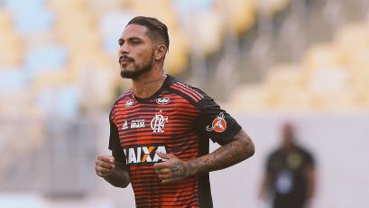 Paolo Guerrero está de vuelta en el fútbol con el Flamengo