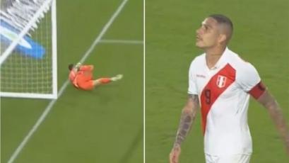 Perú vs. Colombia: Paolo Guerrero casí le convierte golazo de tiro libre a David Ospina (VIDEO)