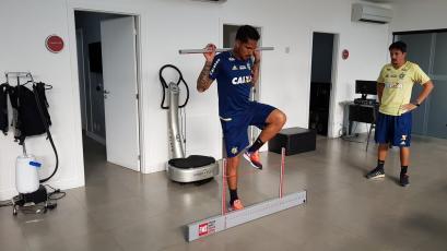 Paolo Guerrero regresó a los entrenamientos del Flamengo