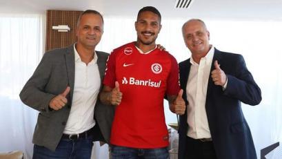 Paolo Guerrero quedó habilitado para jugar por el Inter de Porto Alegre