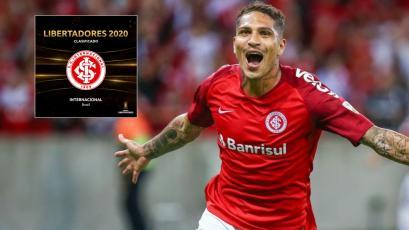 Paolo Guerrero clasificó con Internacional de Porto Alegre a la Copa Libertadores 2020