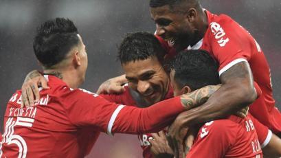 Copa de Brasil: Internacional venció 3-1 a Paysandu con doblete de Paolo Guerrero (VIDEO)