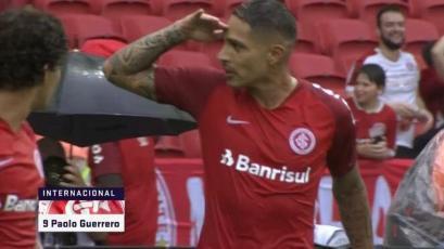 Internacional: Paolo Guerrero marcó su primer golazo en el debut (VIDEO)
