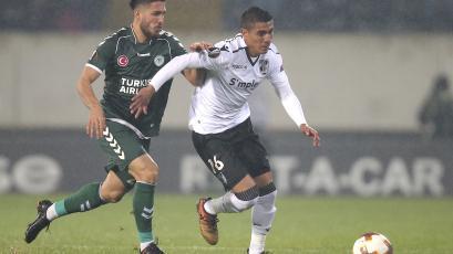 Paolo Hurtado vienen completando una gran temporada en el Vitória Guimarães