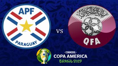 Paraguay vs. Qatar se enfrentan por el grupo B de la Copa América Brasil 2019