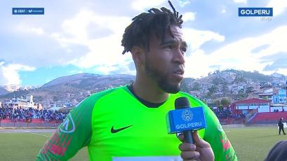 Pedro Gallese tras el empate de Alianza Lima ante UTC: