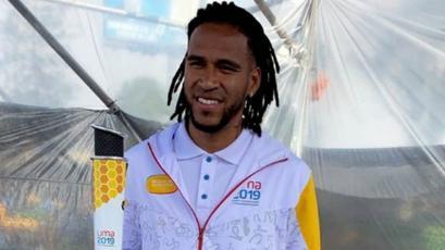 Lima 2019: el emotivo momento de Pedro Gallese al encender el pebetero de los Juegos Panamericanos