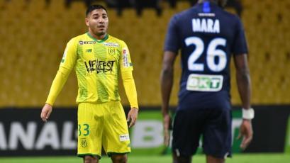 Percy Prado debutó con el Nantes en un 8-0 por la Copa de la Liga de Francia
