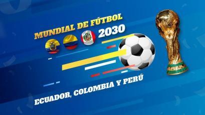 Perú es propuesto para organizar el Mundial del 2030 con Ecuador y Colombia