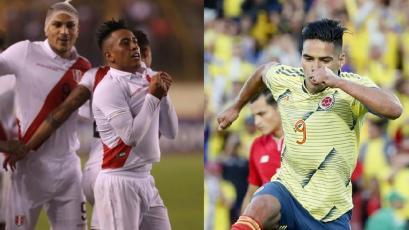 Perú vs. Colombia: hora, estadio y alineaciones del amistoso internacional