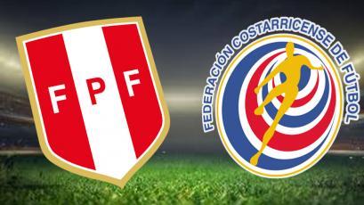 Perú vs. Costa Rica se enfrentan en amistoso internacional
