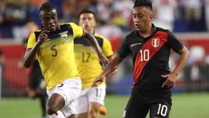 Perú cayó 1-0 ante Ecuador en amistoso disputado en Nueva Jersey y ahora jugará con Brasil (VIDEO)