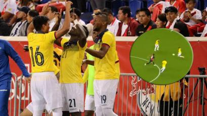Perú vs Ecuador: el terrible error de André Carrillo que terminó en gol de Erick Castillo (VIDEO)