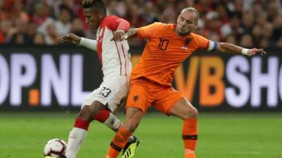 Perú cayó 2-1 ante Holanda en partido amistoso