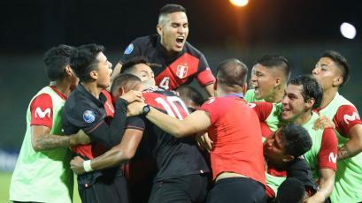Perú dio el golpe y le volteó 3-2 a Paraguay en un partidazo por el Torneo Preolímpico Sub 23