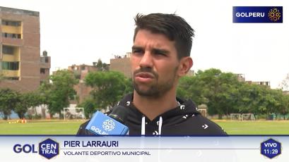 """Pier Larrauri: """"Esperamos ganar los cuatro partidos en Lima"""""""