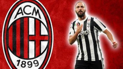 Gonzalo Higuaín tendría todo cerrado con AC Milan