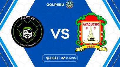 Pirata FC vs Ayacucho FC: hora, estadio y posibles alineaciones por Liga1 Movistar