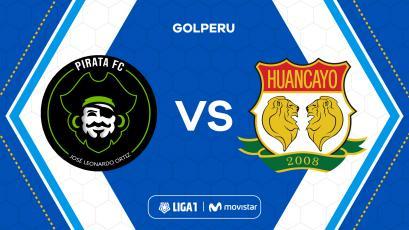Liga1 Movistar: Pirata FC recibe a Sport Huancayo en Olmos por la fecha 9 del Torneo Clausura
