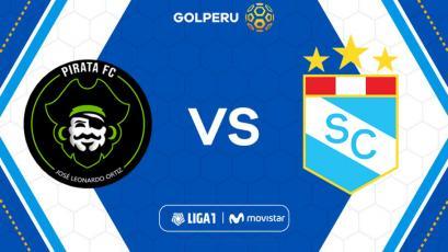 Pirata FC vs Sporting Cristal: hora, estadio y posibles alineaciones del partido por Liga1 Movistar