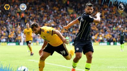 Manchester City igualó 1-1 en su visita al Wolverhampton
