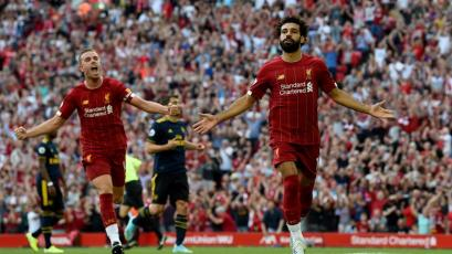 Premier League: Liverpool y Salah golearon al Arsenal en el partido de la fecha (VIDEO)