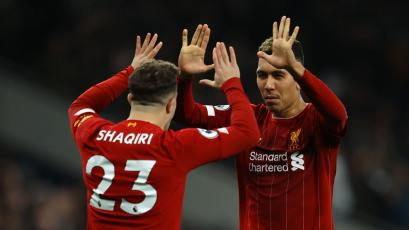 Liverpool sigue imparable y venció al Tottenham como visitante (VIDEO)