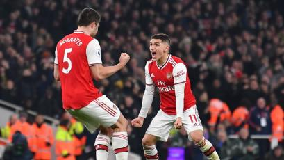 Premier League: Arsenal frena al Manchester United en el inicio del 2020