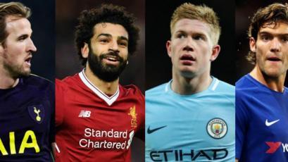 Premier League: se eligió al XI de la temporada 2017/18