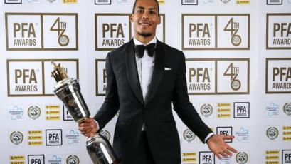 Premier League: Virgil van Dijk es elegido mejor futbolista