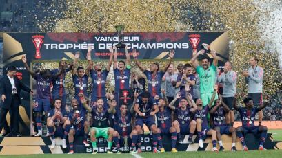 PSG goleó al Mónaco y levantó la Supercopa de Francia