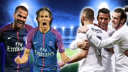 PSG y Real Madrid definen su serie en el Parque de los Príncipes