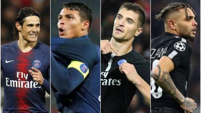 PSG: Edinson Cavani y los experimentados que no continuarán en el club francés