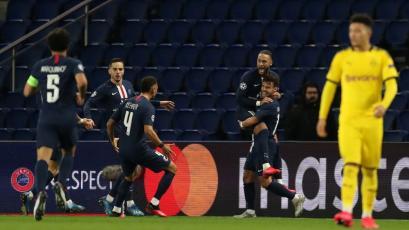 Champions League: PSG venció 2-0 a Borussia Dortmund y clasificó a los cuartos de final (VIDEO)