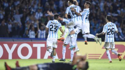Racing venció a la U. de Chile y avanzó en la Copa Libertadores