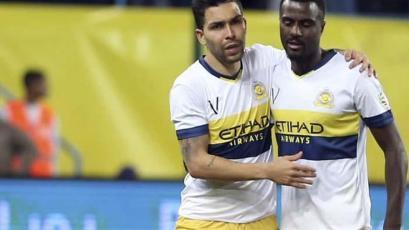 Christian Ramos vio acción en victoria del Al Nassr en la Copa del Rey árabe