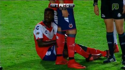 Christian Ramos se lesionó en su debut con Veracruz