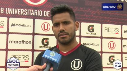 """Raúl Fernández: """"Espero que todo el equipo llegue bien al Apertura"""""""