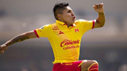 Raúl Ruidíaz se metió entre los 10 máximos goleadores de Morelia