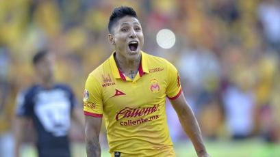 Raúl Ruidíaz anotó el gol que le dio la victoria al Monarcas Morelia ante Lobos BUAP