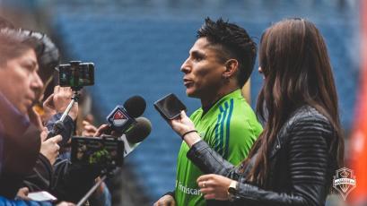 Raúl Ruidíaz recibe elogios a horas de jugar la final de la MLS con el Seattle Sounders
