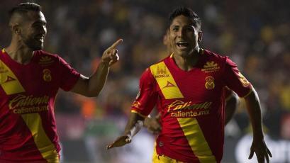 Raúl Ruidíaz se mete en el once ideal de la jornada en el fútbol mexicano