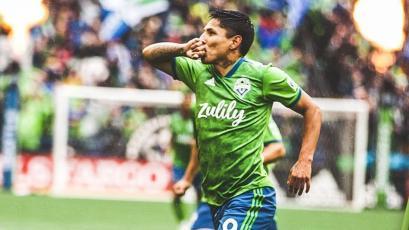 Raúl Ruidíaz vuelve a marcar y sacó un golazo con el Seattle Sounders en la MLS